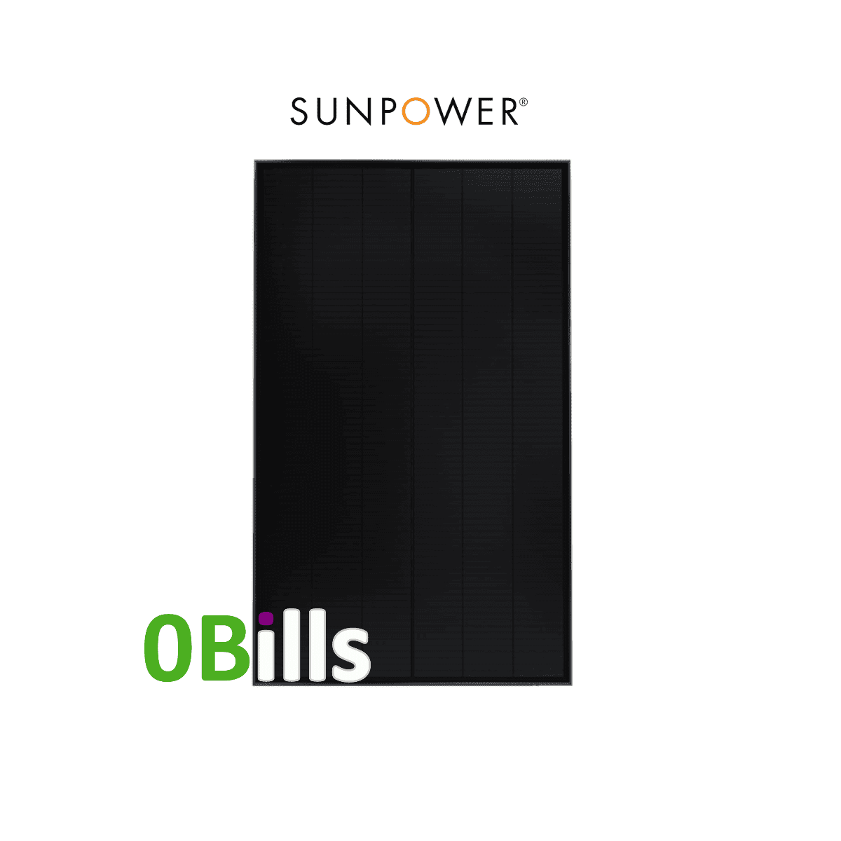 SunPower SPR-P3-325-BLK Mono 325W Solar Panel for sale