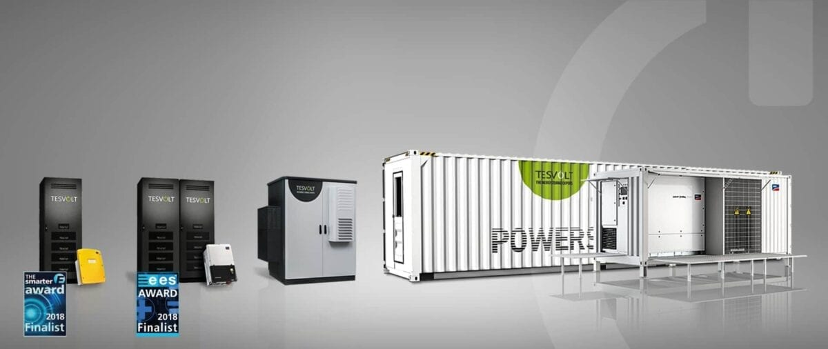 TESVOLT Storage System has been nominated for the ESS Award