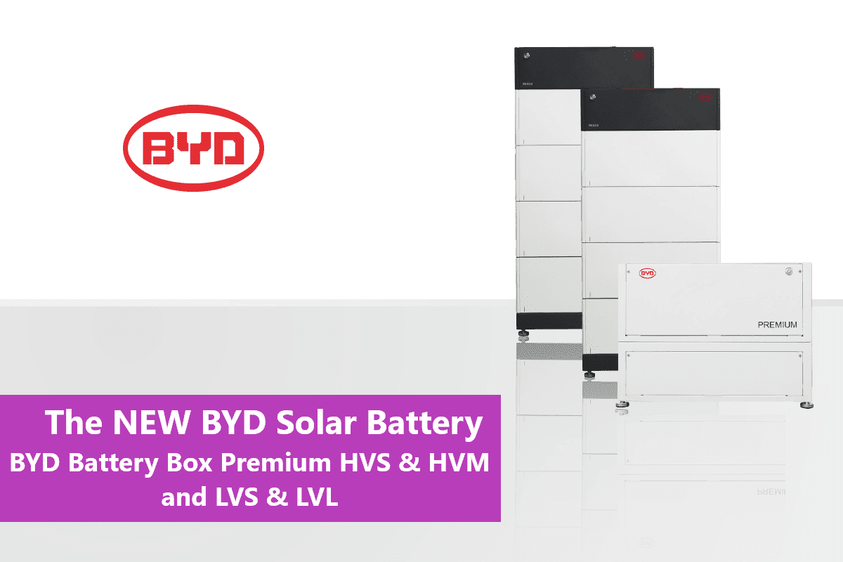 The new BYD Battery Box Premium: a new solar storage experience; New BYD Battery Box Premium HVS and HVM The new BYD Battery Box Premium LVS New BYD Battery Box Premium LVL