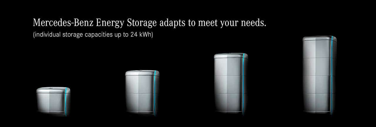 The new generation of Mercedes-Benz Energy Storage