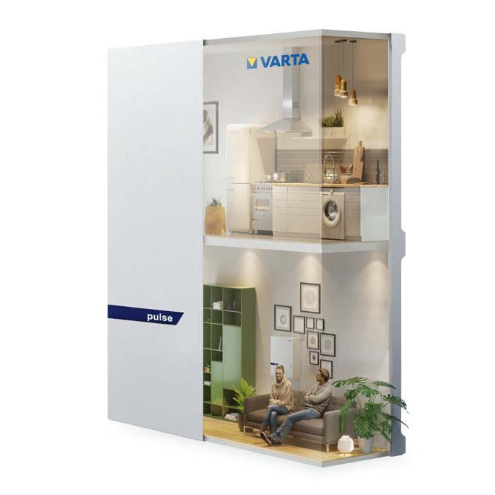 VARTA pulse 3 Battery Storage System 3.3 kWh on zerohomebills.com by solaranna 3