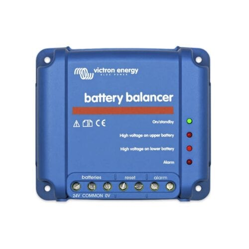 Victron Battery Balancer and Battery Monitor for Off-Grid Solar