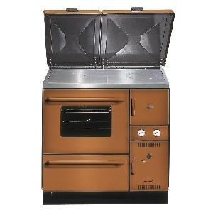 Wamsler K148 cooking stove MIX USE (left) brown