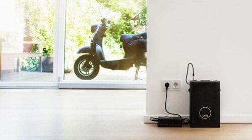 unu-electric scooter charge it anywhere
